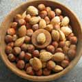 natural and organic foods such as nuts