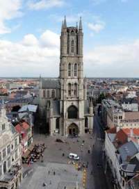 St Bavo's Cathedral in Ghent