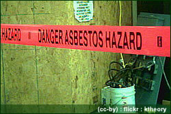 asbestos found in school