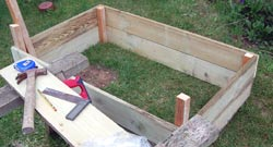 cold frame design building the frame