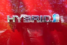 hybrid car definition - the famous Toyota Prius' logo