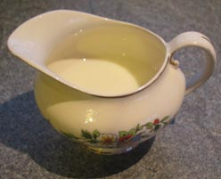 organic body care - milk can be great for skin cleansing