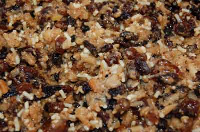 organic homemade mincemeat
