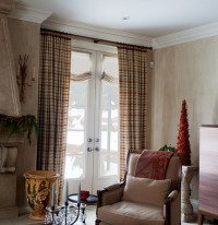 thermal lined drapes or curtains