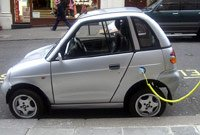 electric car refuelling