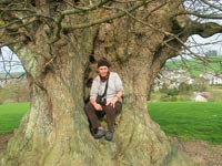 me and a favourite tree