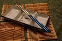 Tistix chopsticks in titanium